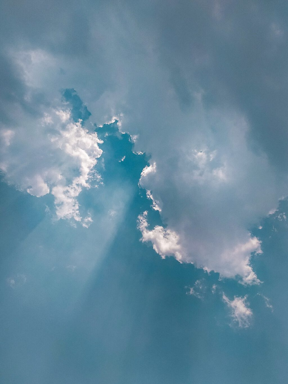 weinig zuurstof in de lucht